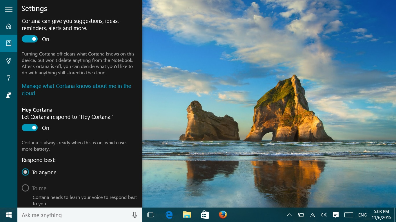 windows 10 november update 1511