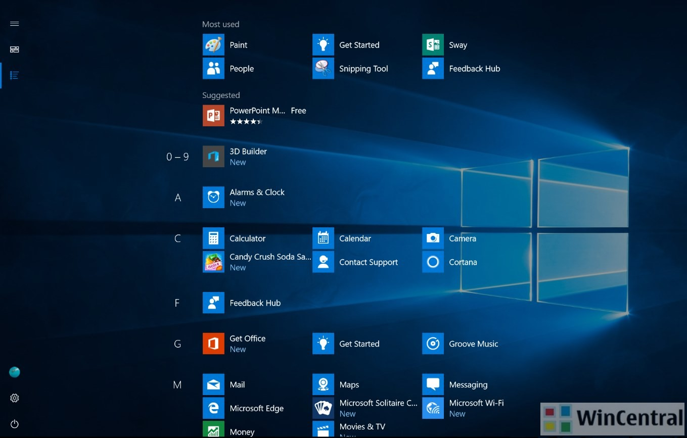 Windows 10 roadmap pc to pc casting picture in picture for Windows 10 pc