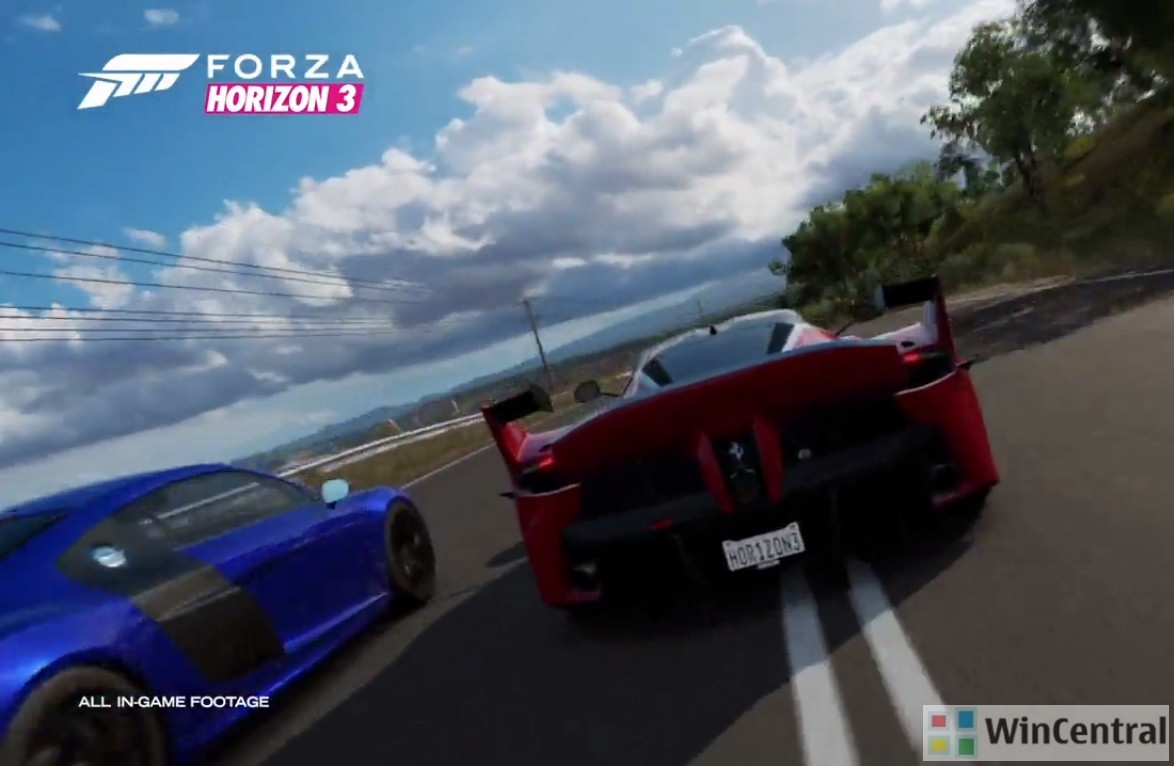 forza horizon 3 gears 4 release date pre order price announced. Black Bedroom Furniture Sets. Home Design Ideas