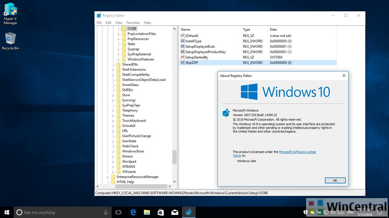 Microsoft preparing a windows 10 anniversary update zero day patch