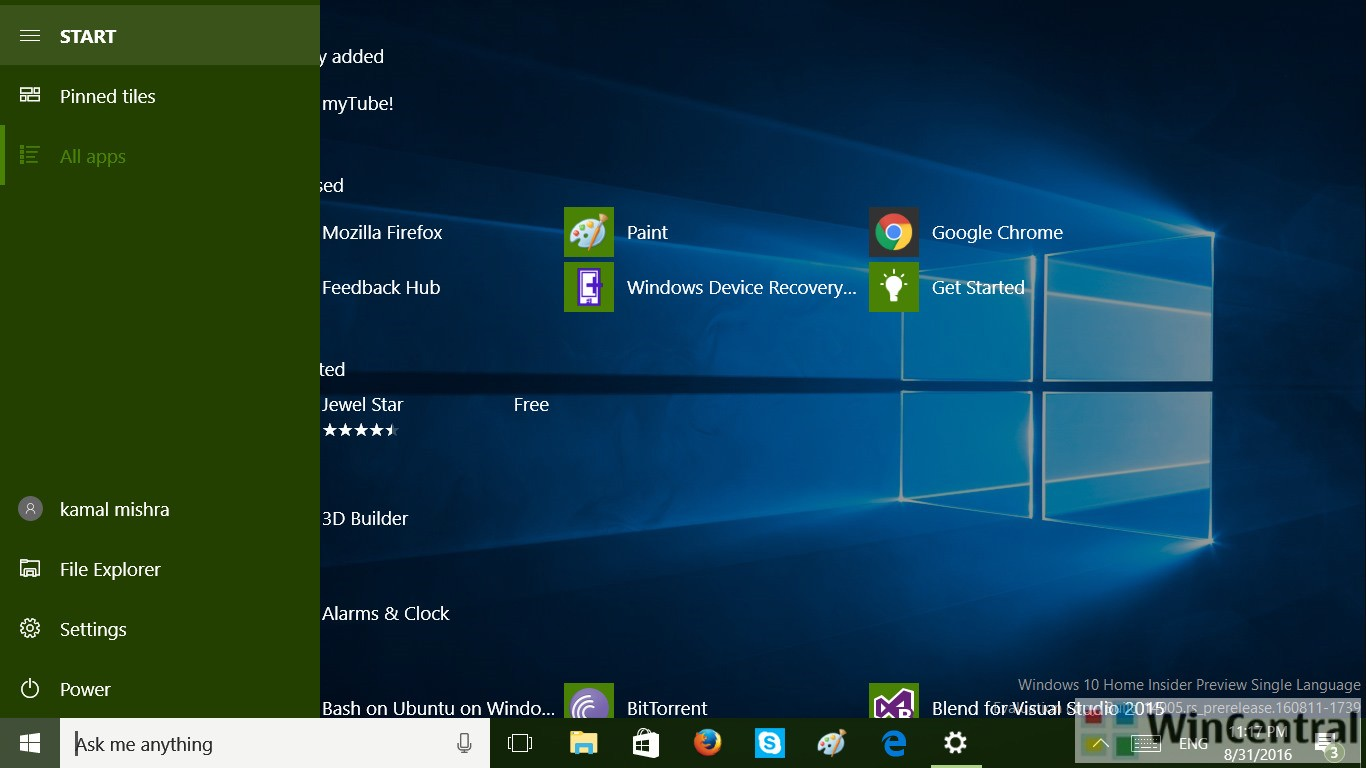 Windows 10 build 14971 iso