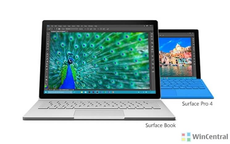 Surface Pro 4, Surface Book