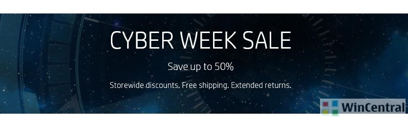 hp cyber week