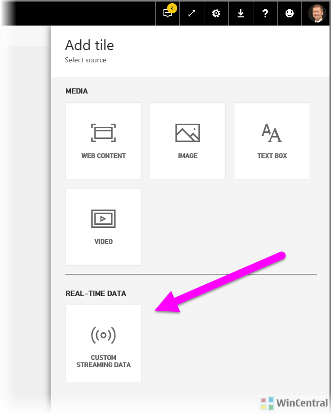 Power BI real-time