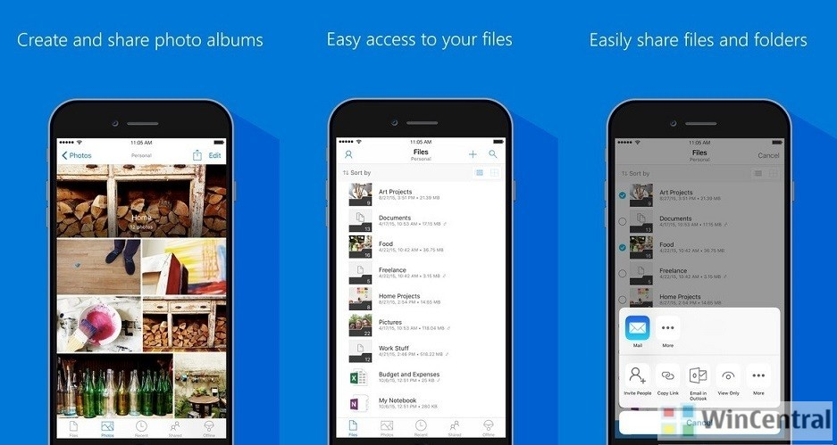 OneDrive For iOS Gets Big Update