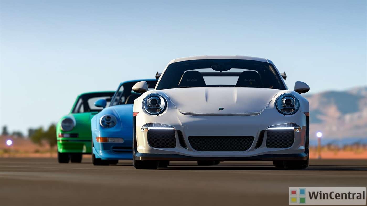 Porsche Car Pack
