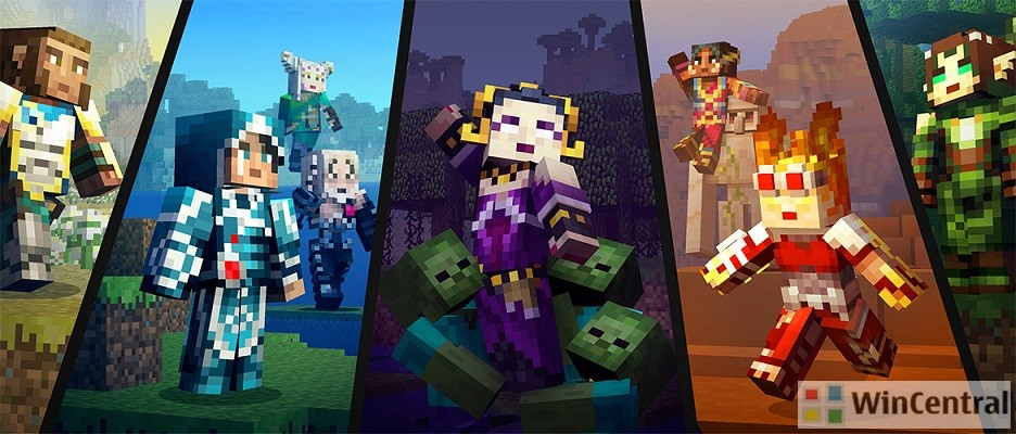 Magic The Gathering Skin Pack Now Available For Minecraft Pocket - Skins fur minecraft windows 10