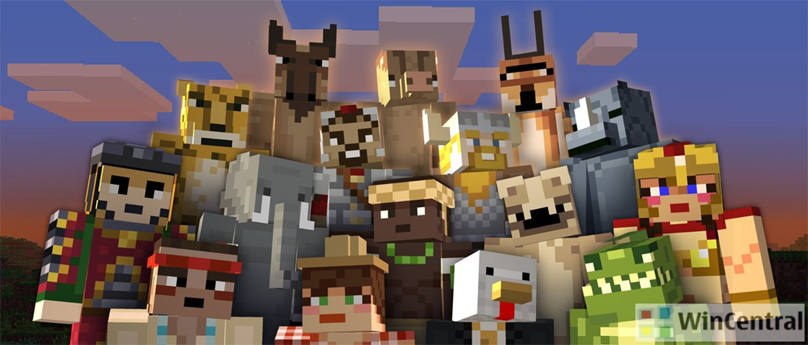 Minecraft Gets Minor Update For MCPEWIN Fixes Lag On Android - Skins para minecraft windows 10