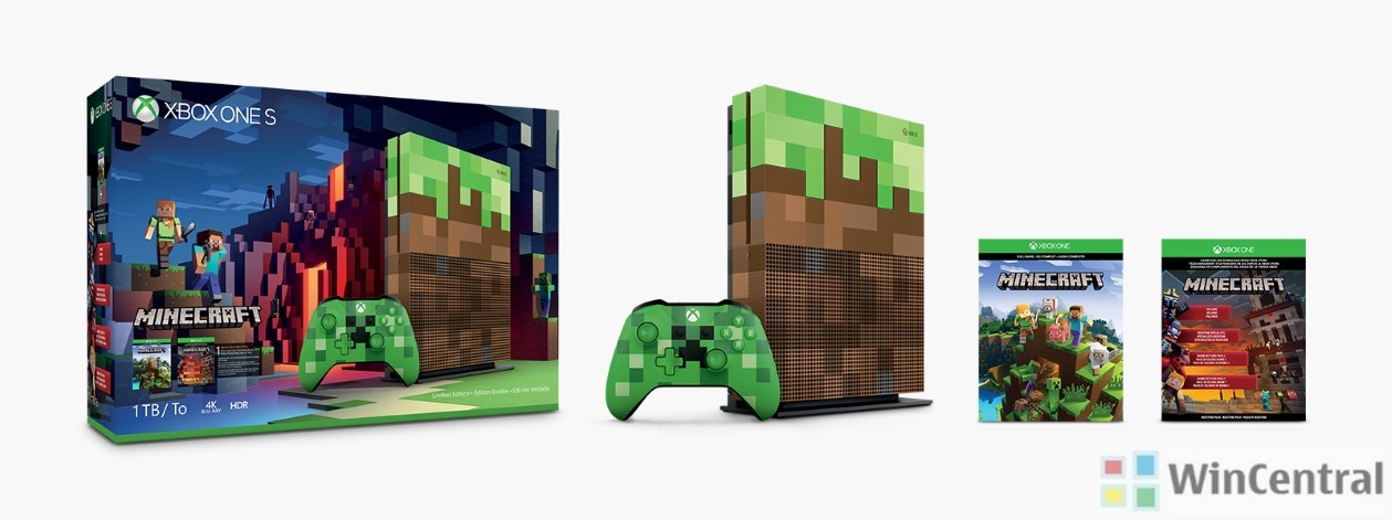 Minecraft Limited Edition Bundle