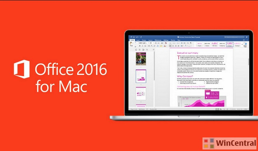 Insider Slow Build Of Office 2016 For Mac Brings One Click Fixes For