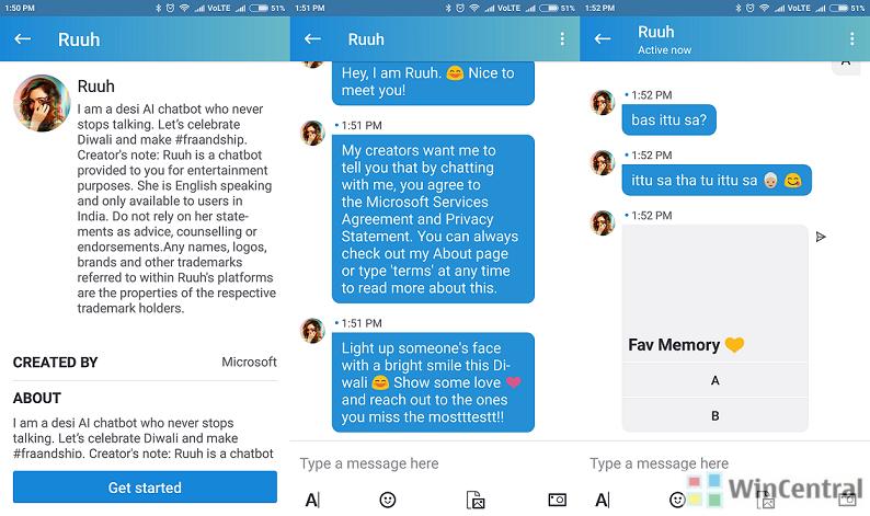 Skype Lite - Ruuh Bot