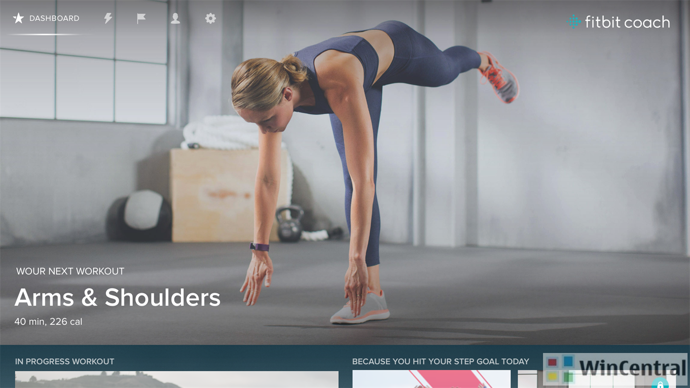 Fitbit's fitness training app now available on Xbox One
