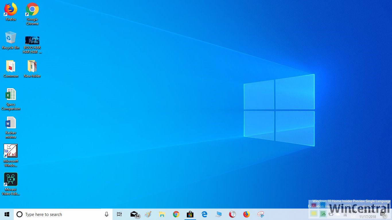 windows 10 version 1903 (19h1) iso