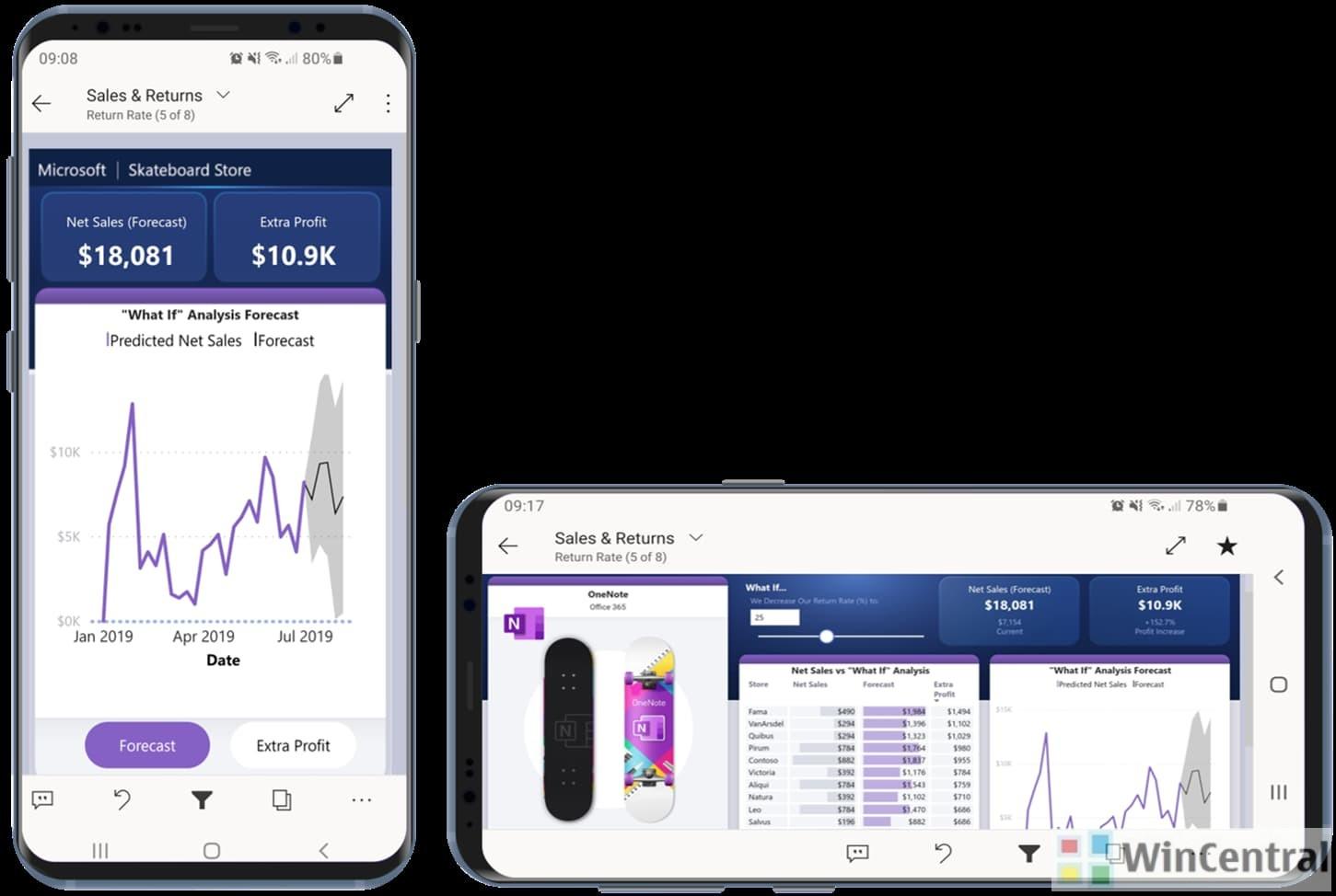 Power BI Mobile Reports