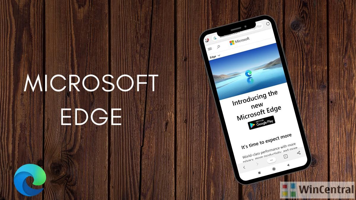 Microsoft Edge on Android