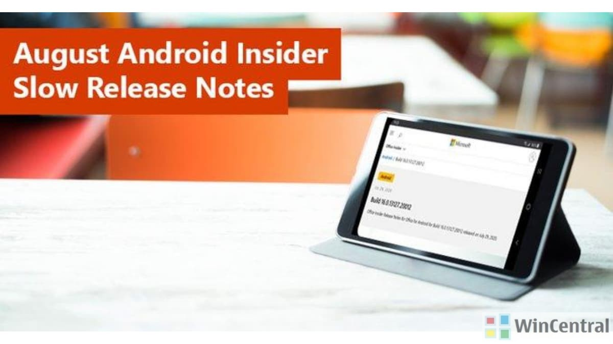 Office for Android Insider Slow