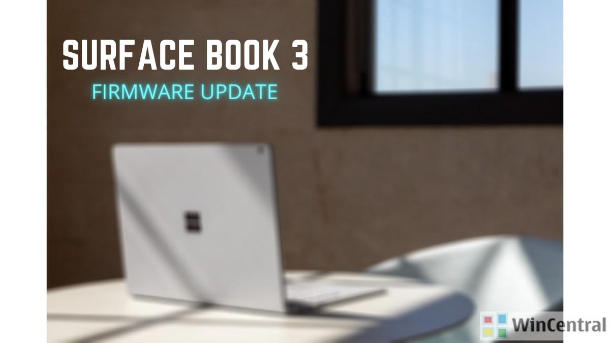 Surface Book 3 Firmware Update
