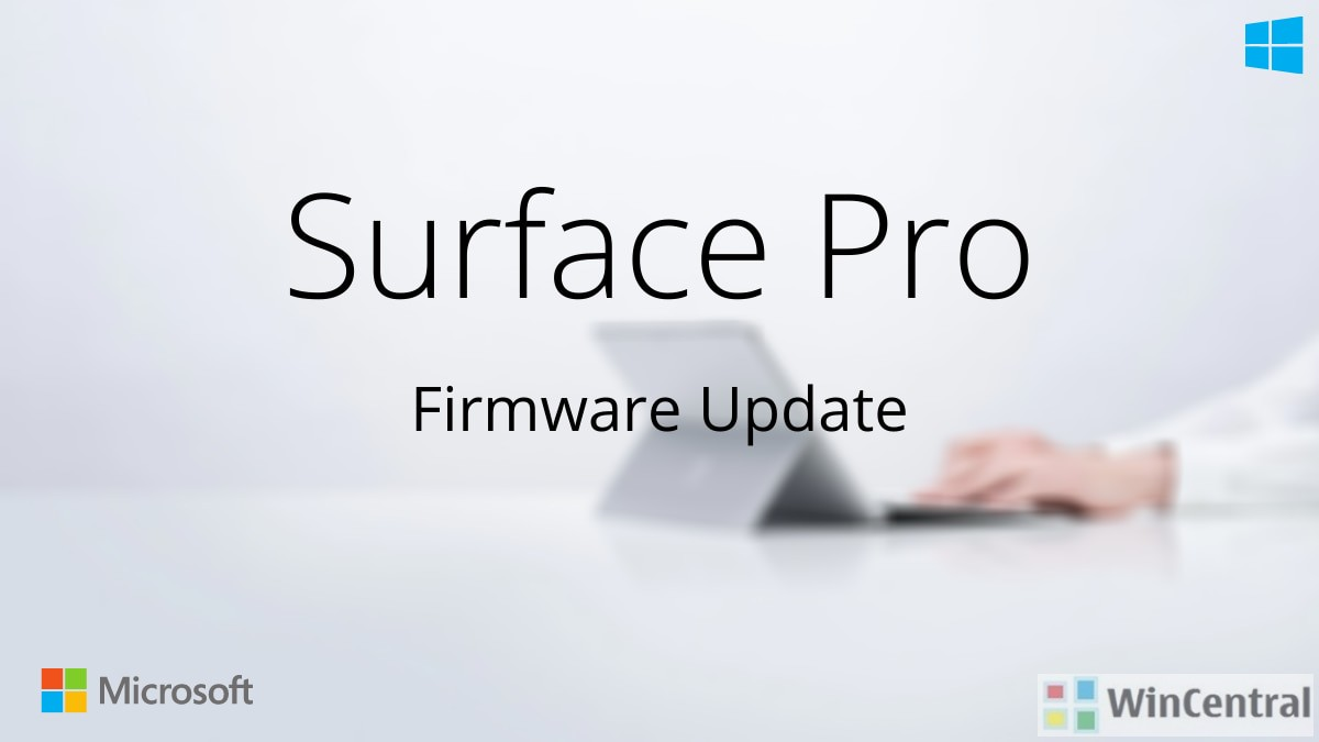 Surface Pro Firmware Update