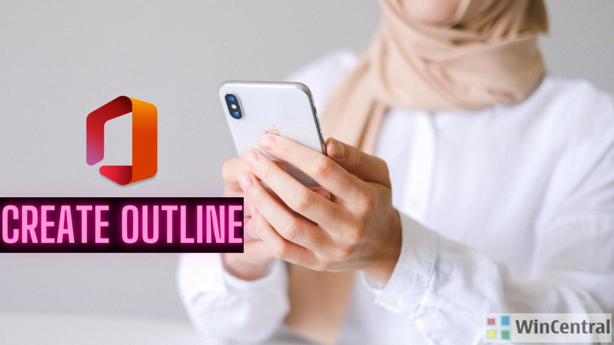 Create Outline feature