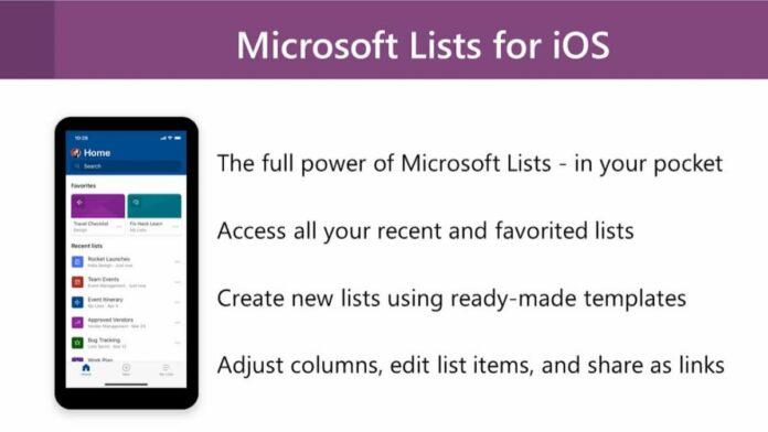 Microsoft Lists